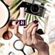 lakier hybrydowy hi hybrid 5 ml Aubergine Violet #259